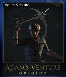 Adam's Venture: Origins - Adam Venture