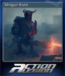 Action Legion - Minigun Brute