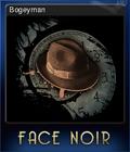 Face Noir Card 7