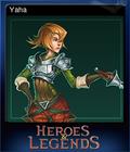 Heroes & Legends Conquerors of Kolhar Card 8