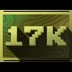 Steam Games Badge 17000