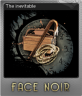 Face Noir Foil 6