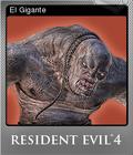Resident Evil 4 Foil 4