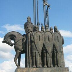 Памятник Александру Невскому в г.Пскове