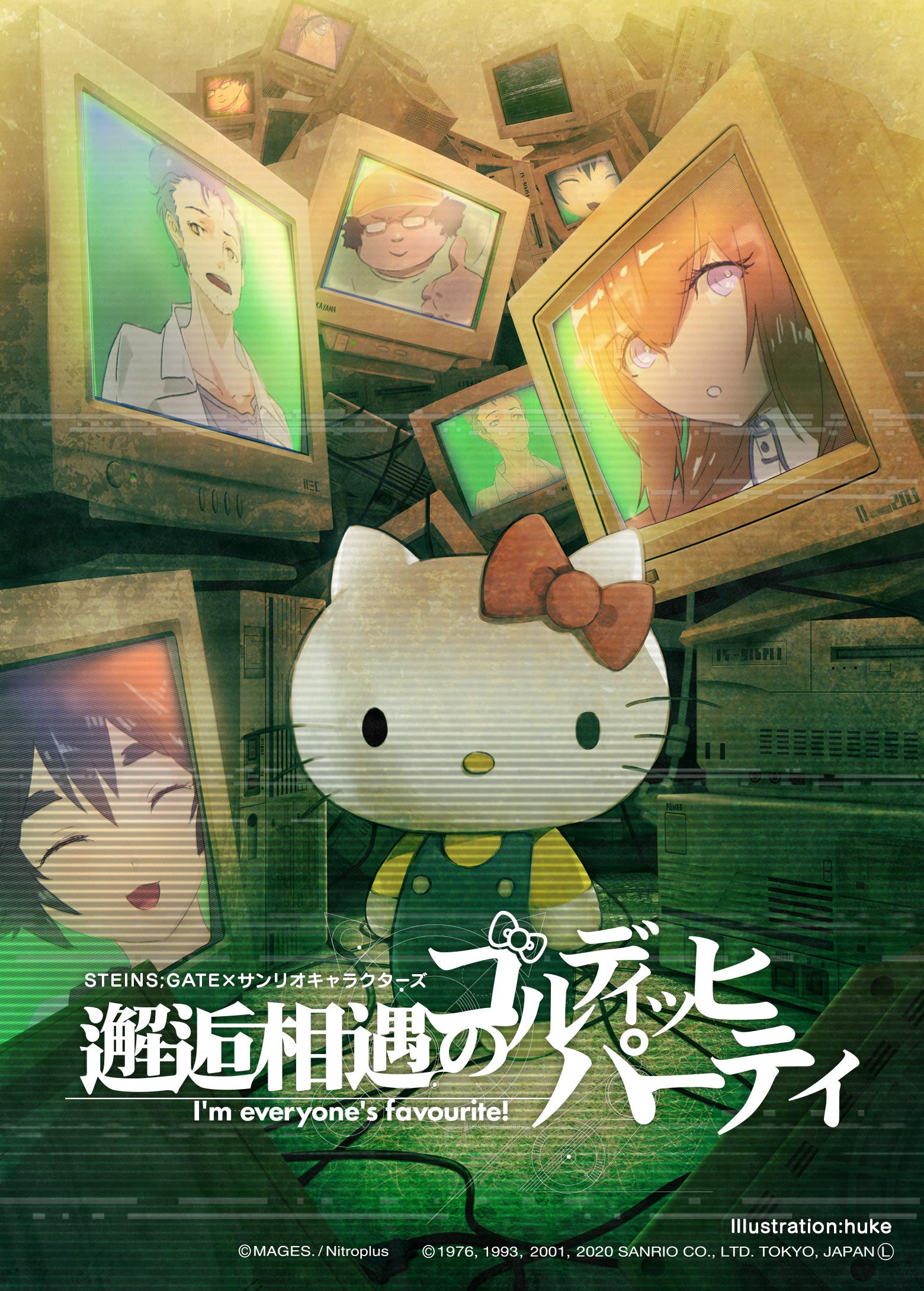 Steins;Gate x Sanrio Characters: Chance Encounter of Goldich Party