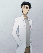 Rintarou Okabe anime