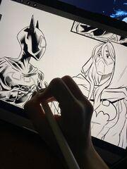 Sweeny Boo Batgirls pencils.jpg