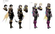 Future State Batgirls costume design