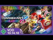 Mario Kart 8 Deluxe Giveaway & Racing w- Viewers! - VOD 10.14