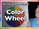 Acrylic Color Mixing: Conventional Color Wheel