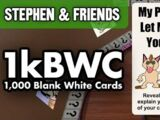 1,000 Blank White Cards