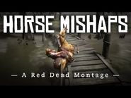 Horse Mishaps- A Red Dead Redemption 2 Montage