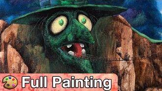 """Banjo-Kazooie_-_""""Spiral_Mountain""""_Painting_(Full_Version)"""