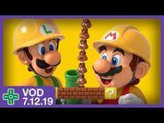 Super Mario Maker 2 Story Mode -1 - VOD 7.12