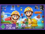 Super Mario Maker 2 Story Mode -2 - VOD 7.26