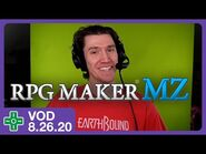Making a game with audience ideas! (RPG Maker MZ) - VOD 8.26