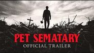 Pet Sematary (2019)- Official Trailer- Paramount Pictures