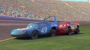 Cars The King Crash Pixar Cars