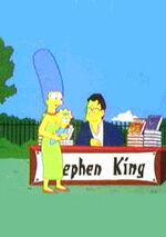 Stephen king et marge simpson.jpg