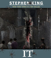 Stephen king s it book cover by shachza-d4l3kw3