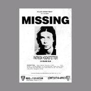 Patrick Hockstetter Missing Poster