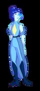 Niebieska Cyrkonia - 2. forma