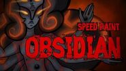 Speed Paint-Obsidian (Steven Universe)-1548453322
