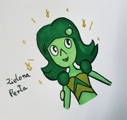 Zielona Perła markery by Geekon