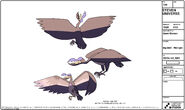 Big Bird Model Sheet
