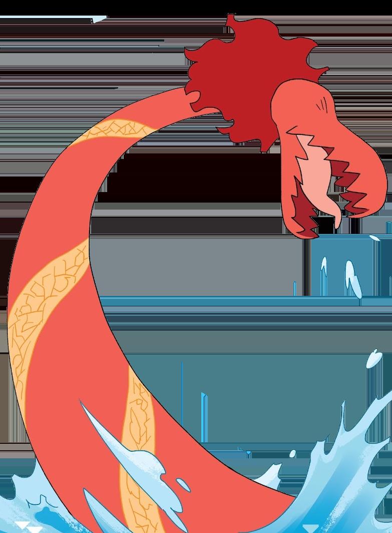 Red Eel Monster