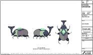 Earth Beetle Model Sheet