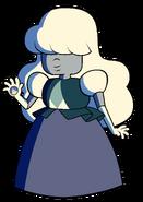 Sapphire (1) Illuminated by Fire