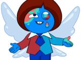 Синяя птица Азурит