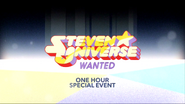 Steven Universe Wanted Promo Title