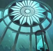 Underwater Temple Ceiling