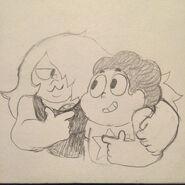 Amy and Steven by JeffLiu