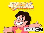 Steven Universe Vol. 1 Cover (UK)