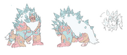 Jasper corrupted character design