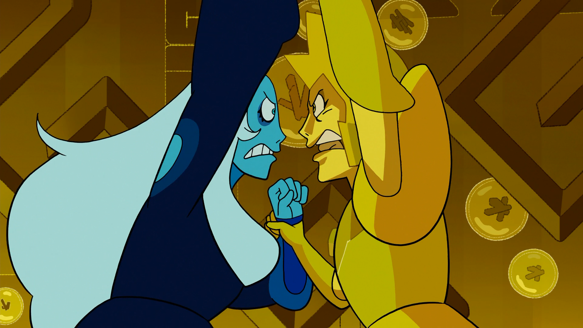 Confronting Yellow Diamond