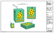 Durian Juice Model Sheet