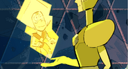Message Received Color Key Yellow Diamond and Peridot
