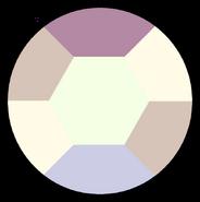 Amethyst Gem Morning Opal