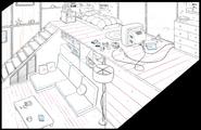 Steven's Room BG Lines