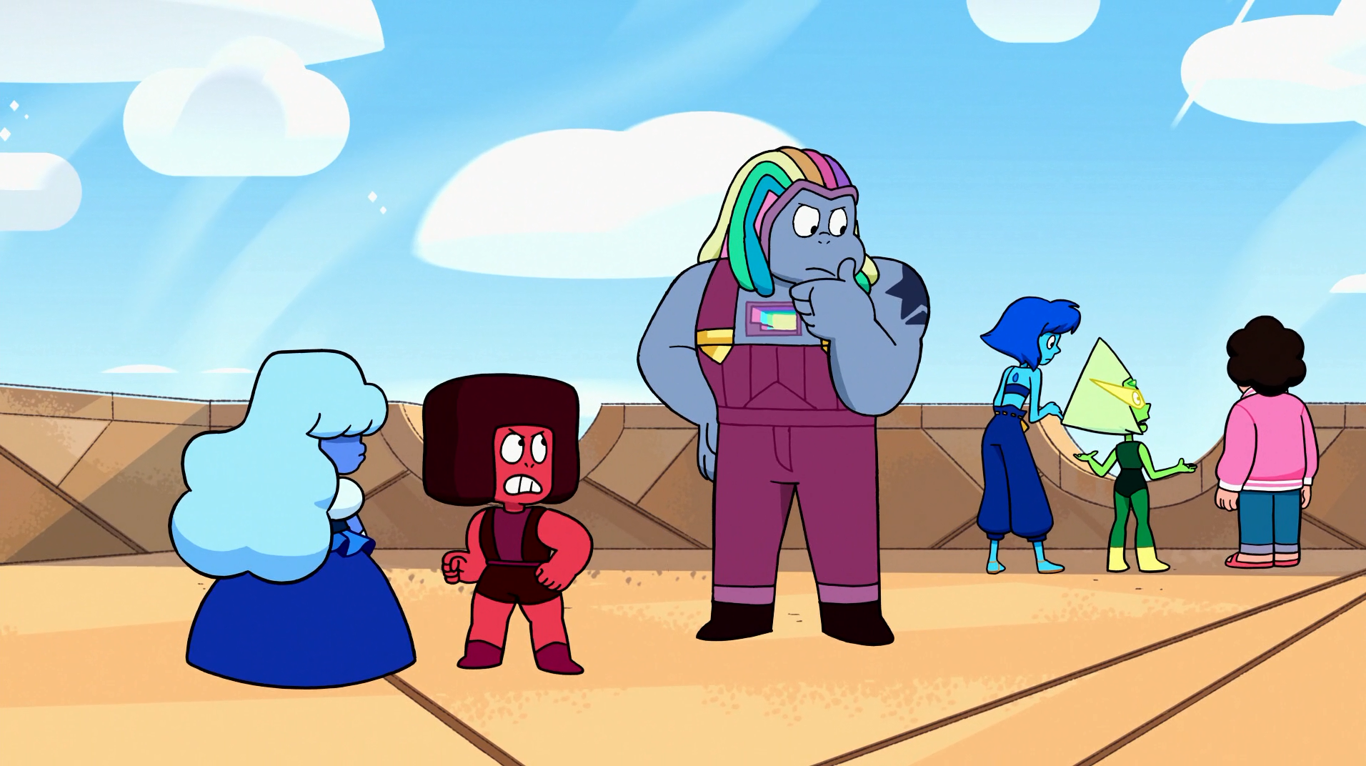 Crystal Gem Huddle