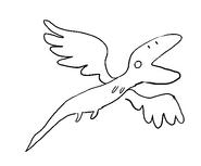 Wind Lizard Sketch by Jeff Liu 5