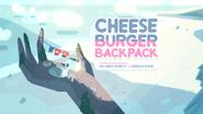 Cheeseburger Backpack 000