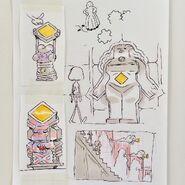 Various Gem decor designs by Tom Herpich