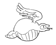 Wind Lizard Sketch by Jeff Liu 4