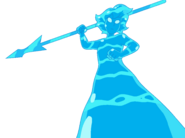 Lapis Water Kaiju With Water Spear