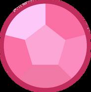Rose quartz gem twilight